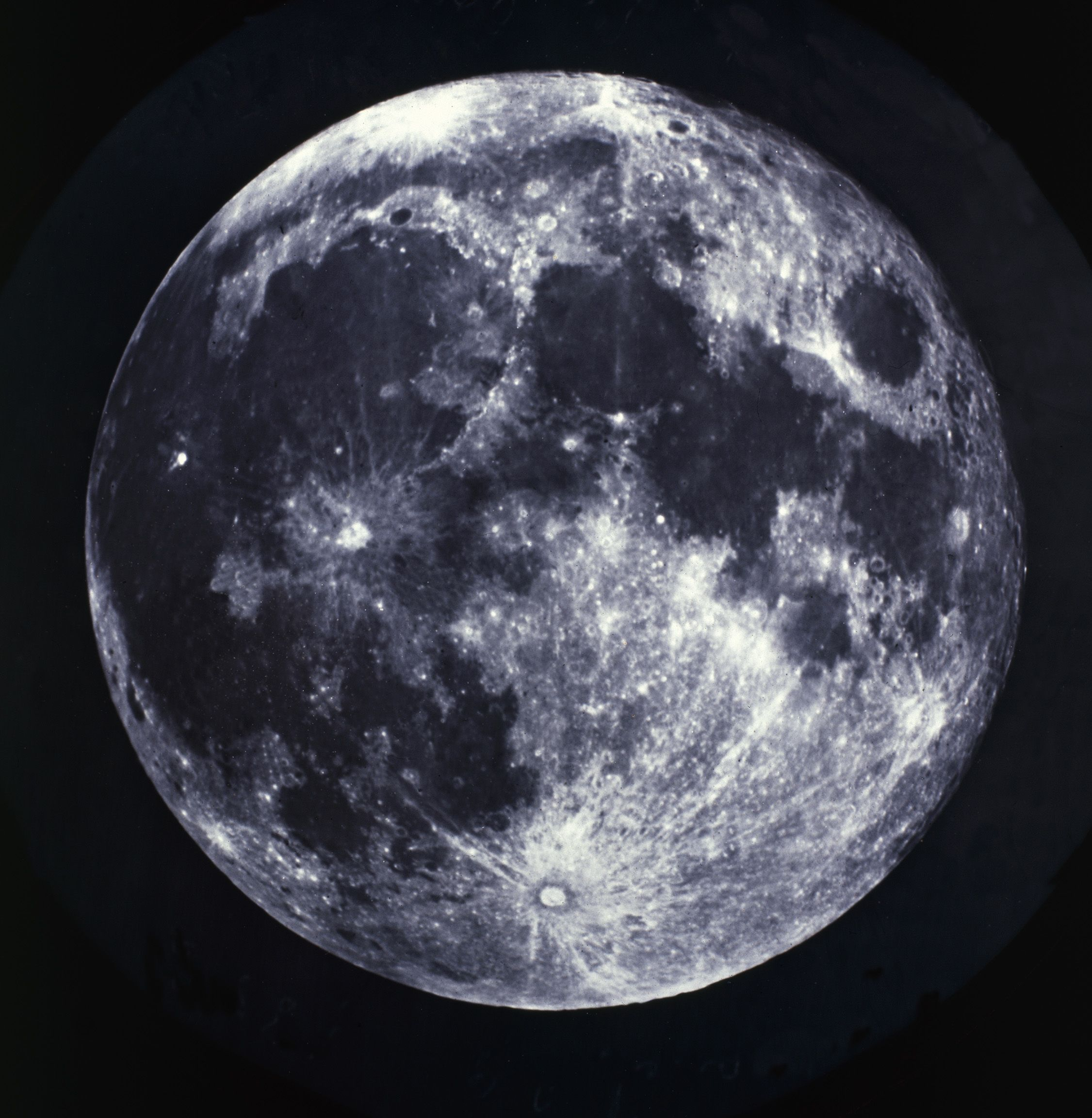 Epic Posters of Full Moon, 1858-1868 by Vintage Photography (1000mm x 1000mm) | Shop | Surface View