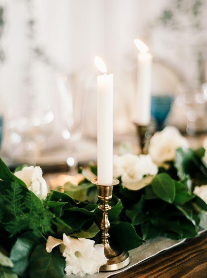 Beautiful wedding table decoration #weddingtable #weddingtable #candleontable