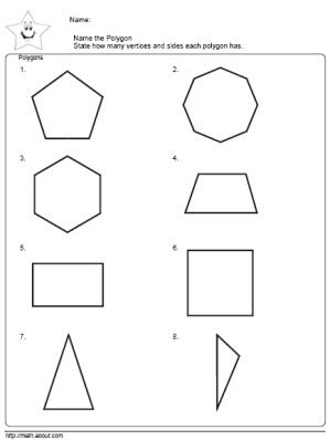 2nd Grade Math: Teach the Kids Polygons With These Nifty Worksheets ...