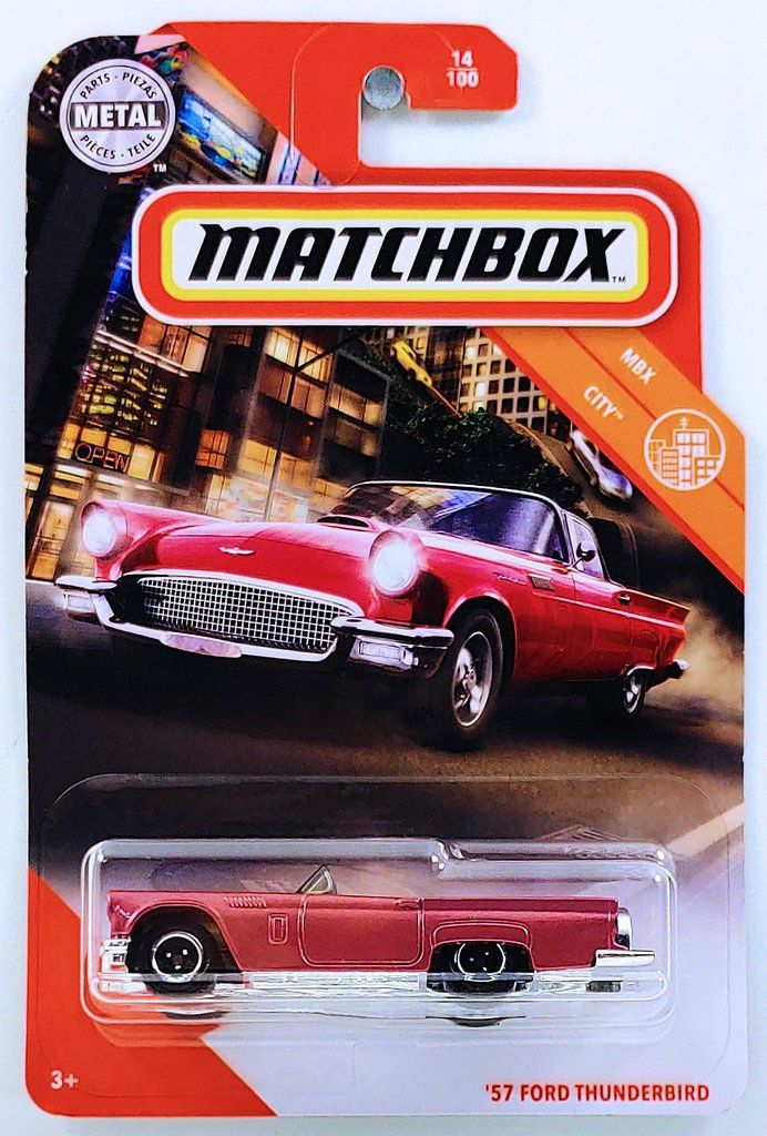 2020 Matchbox '57 FORD THUNDERBIRD in 2020 Ford