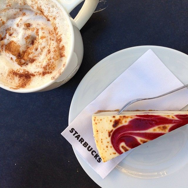 #cake #coffee #time #starbucks #instagram #larskroll
