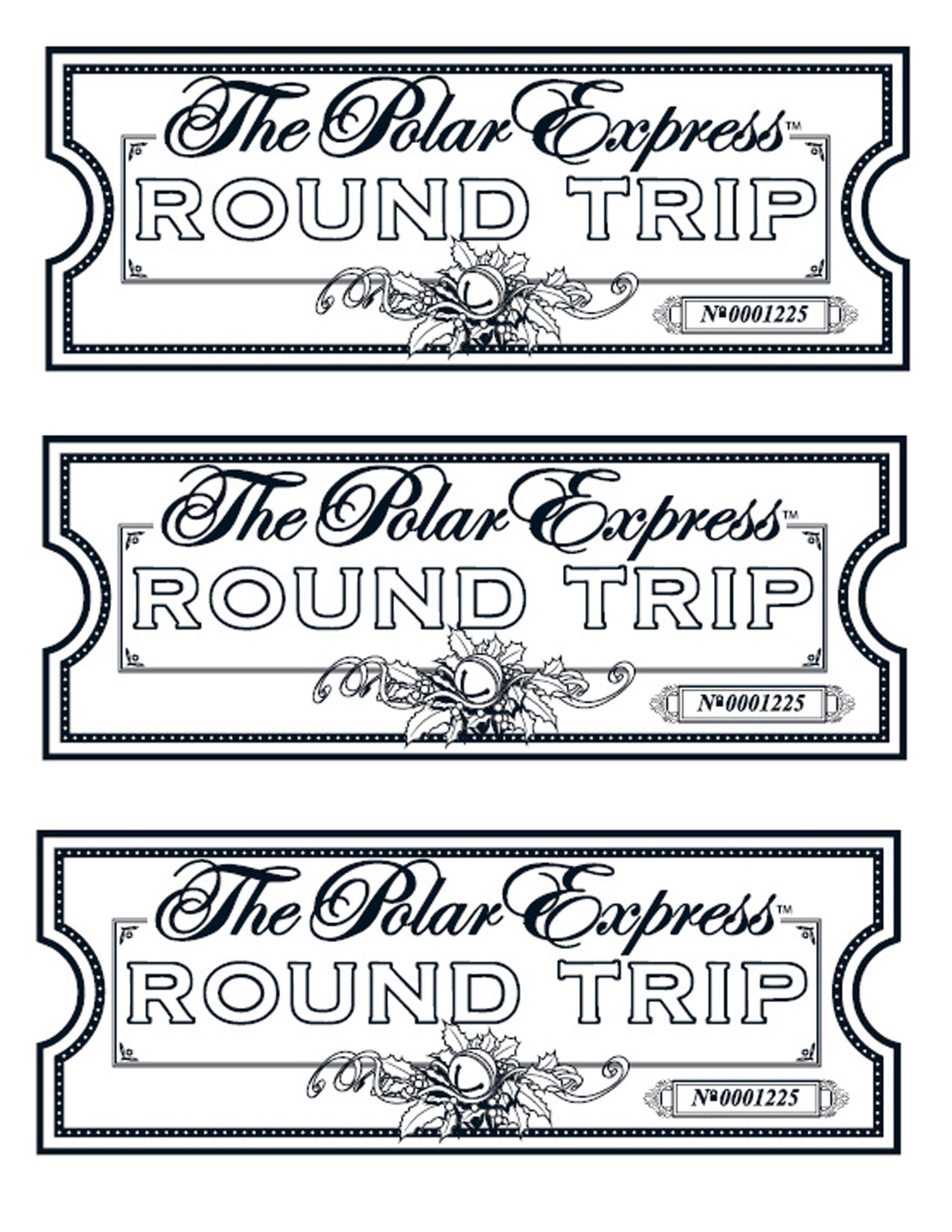 Image Result For Polar Express Tickets Polar Express Tickets