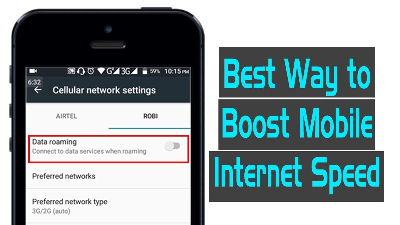 How To Increase Mobile Internet Speed Easily 2019 Update Internet Speed Boost Mobile Cellular Network