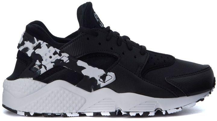 Best price on the market: Nike Sneaker Nike Air Huarache Run Nera E Bianca