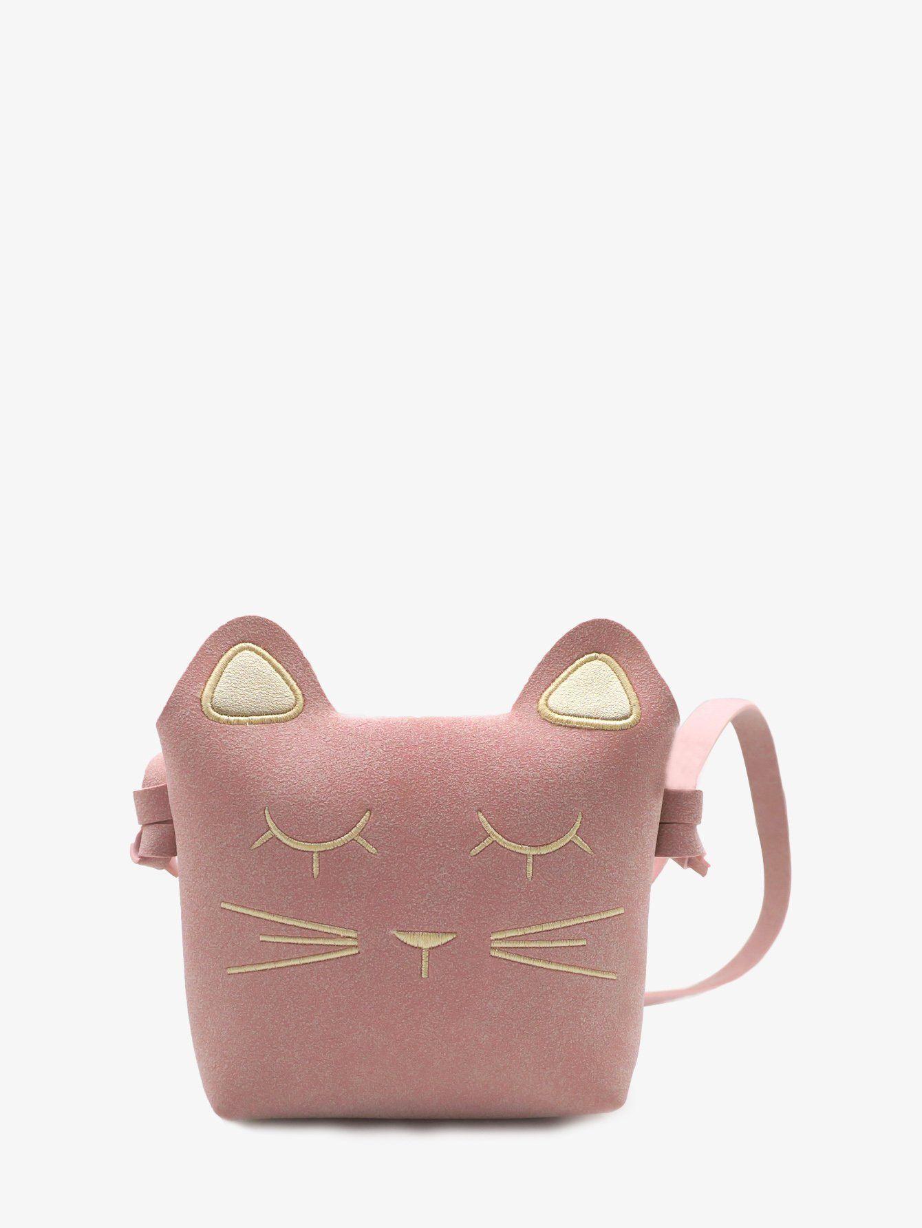 Girls cat design crossbody bag stylish women u men bracelets