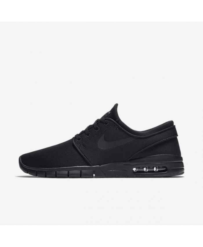 Nike SB Stefan Janoski Max Black Anthracite Black Black 631303-007