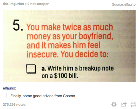 #TipsFromCosmo