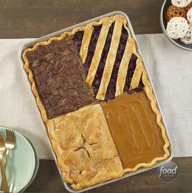 How To Make Four Flavor Sheet Pan Pie Thanksgiving Pies