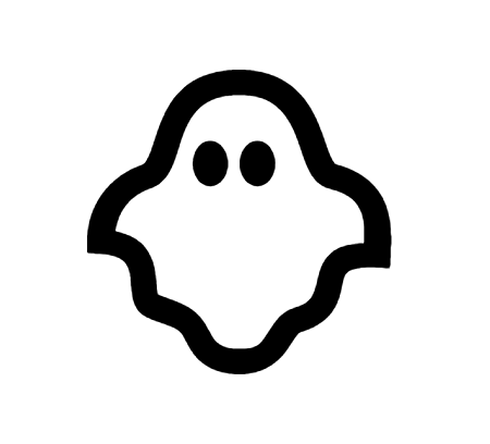 Ghost Icon in Android Style This Ghost icon has Android