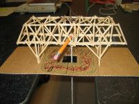 Toothpick Bridge Science Project With Details For Base Homeschool Projects Science Projects Projects
