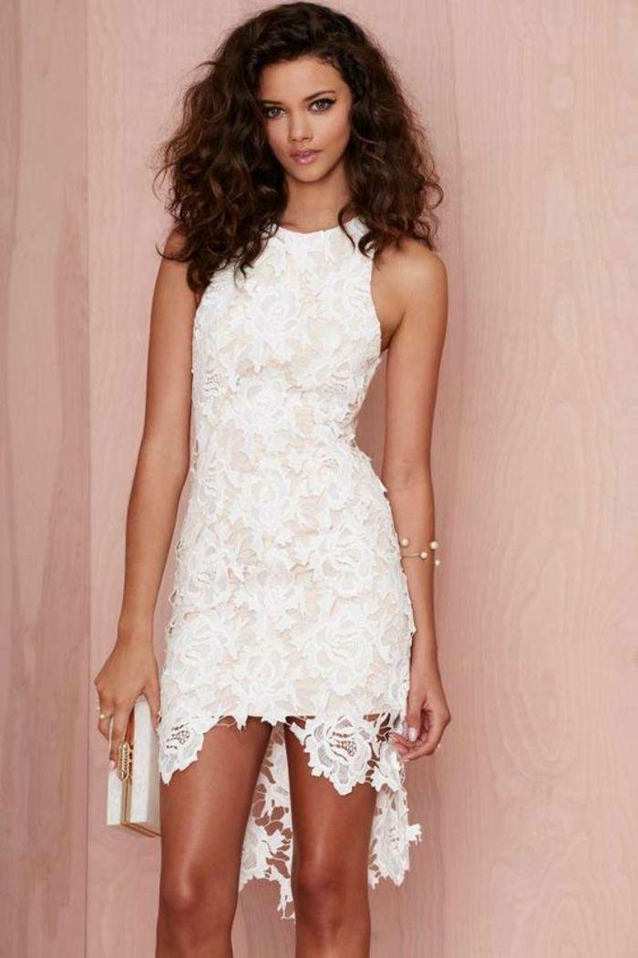 eb727424b382 Spitzenkleid in Weiß - der absolute Sommer-Trend! | Wedding Ideas ...