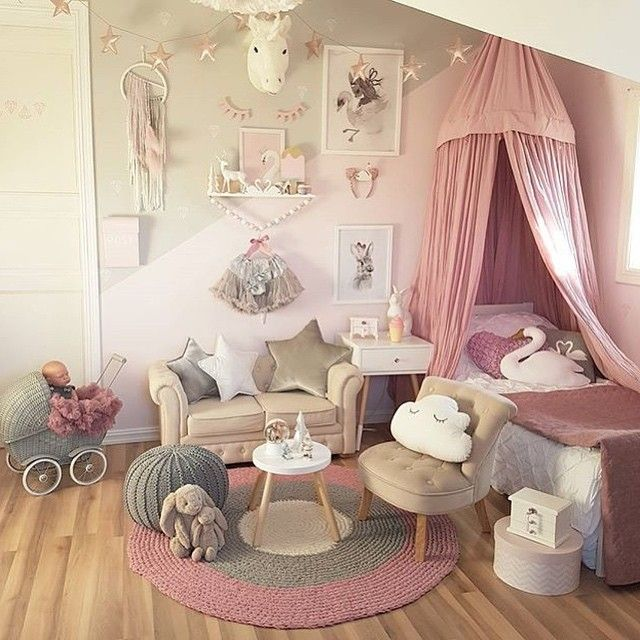 Creative Bedrooms That Any Teenager Will Love: We HAD To Post This Little Girls Dream Bedroom For All The
