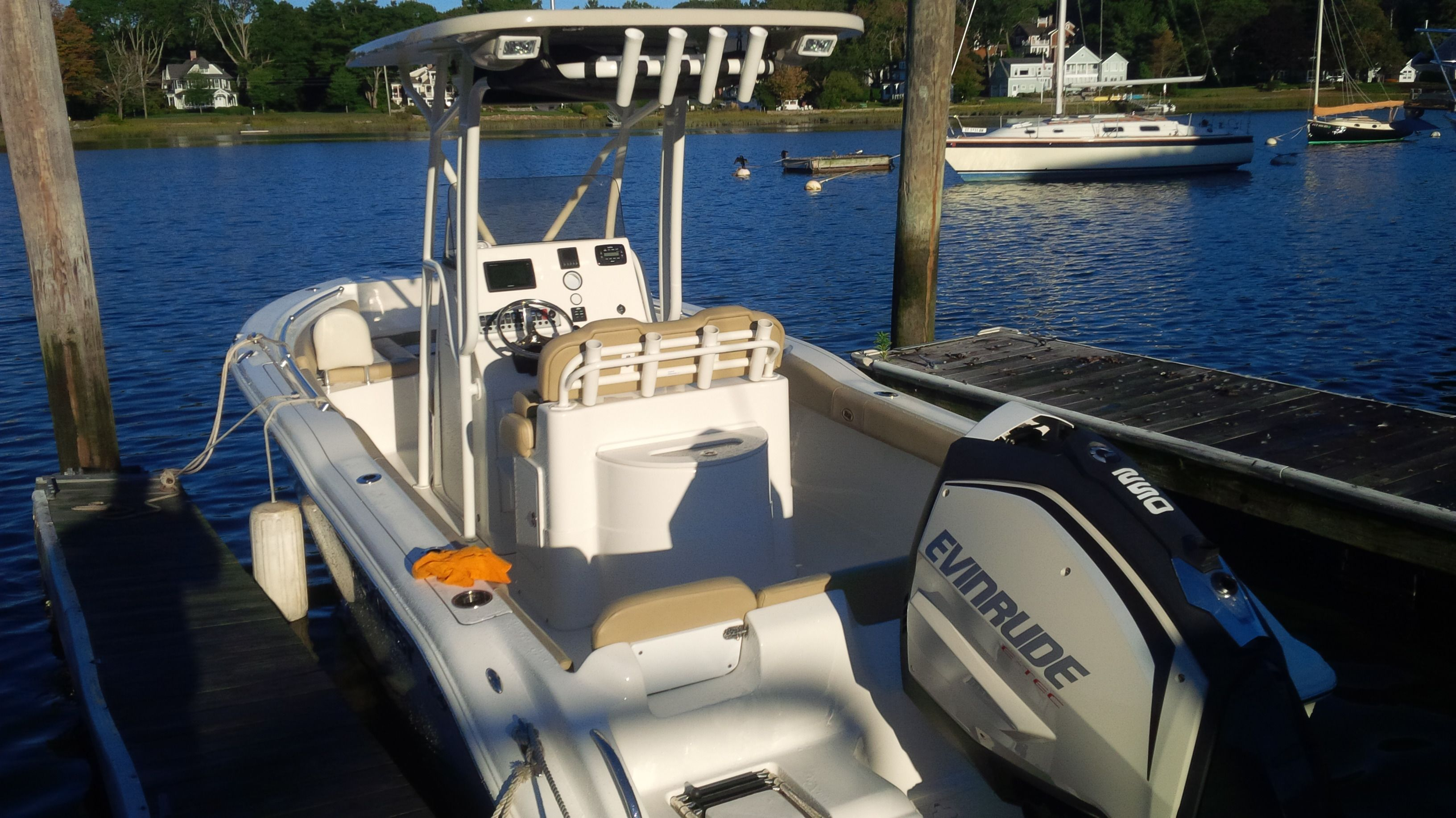 Download The New Key West 239fs While She Was Recently Tested Center Console Fishing Boats Boat Stuff Key West