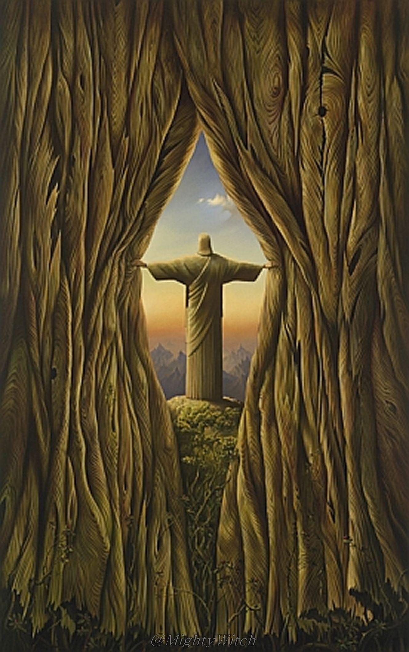 Above The World by Vladimir Kush.