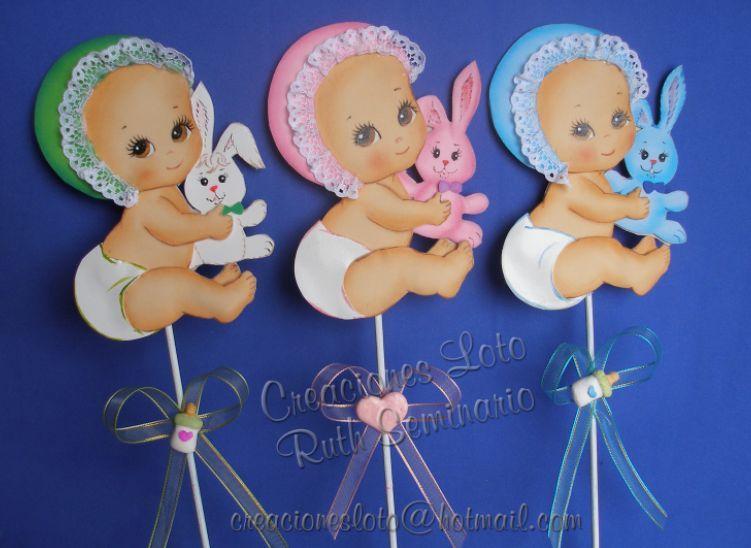 manualidades para baby shower de foami por karen imagui proyectos
