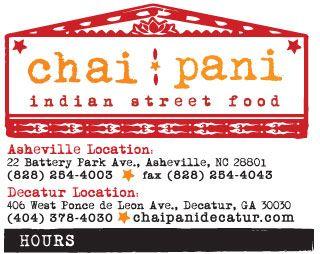 Image result for chai pani asheville asheville nc