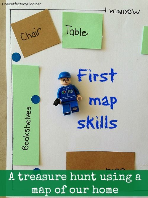 Map Reading For Kids Make A Map Of Your Home Or Room Education - Map reading for children