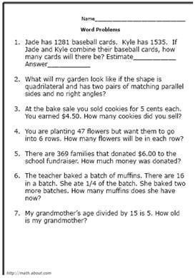 solving math problems online If you're looking for math problems for kids, you've come to the right place browse through our collection of free, printable math problems that kids can solve to.