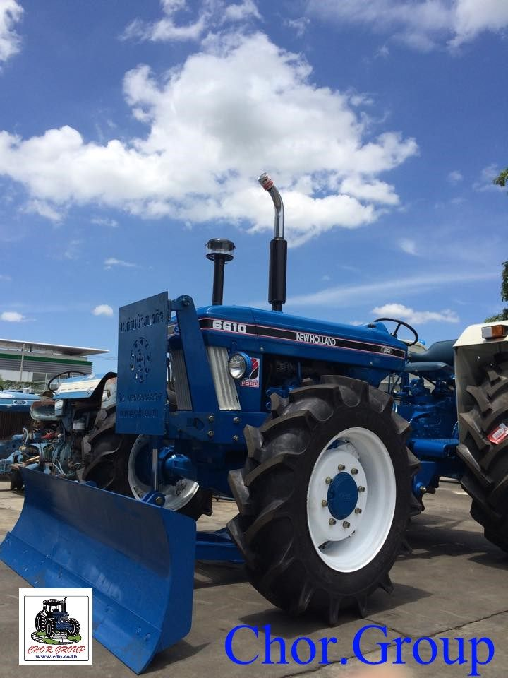 Example Used Tractor Refurbished Ford New Holland 6610 4wd At