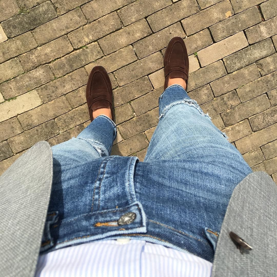 nice 25 Ways To Style Burgundy Shoes - Adding Color to Your Look Check more at http://stylemann.com/best-ways-to-style-burgundy-shoes/