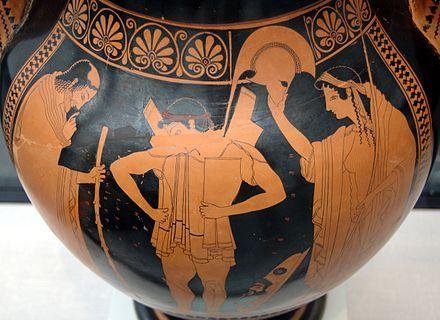 The Revelers Vase Greek And Roman Mythology Ancient Greek Pottery