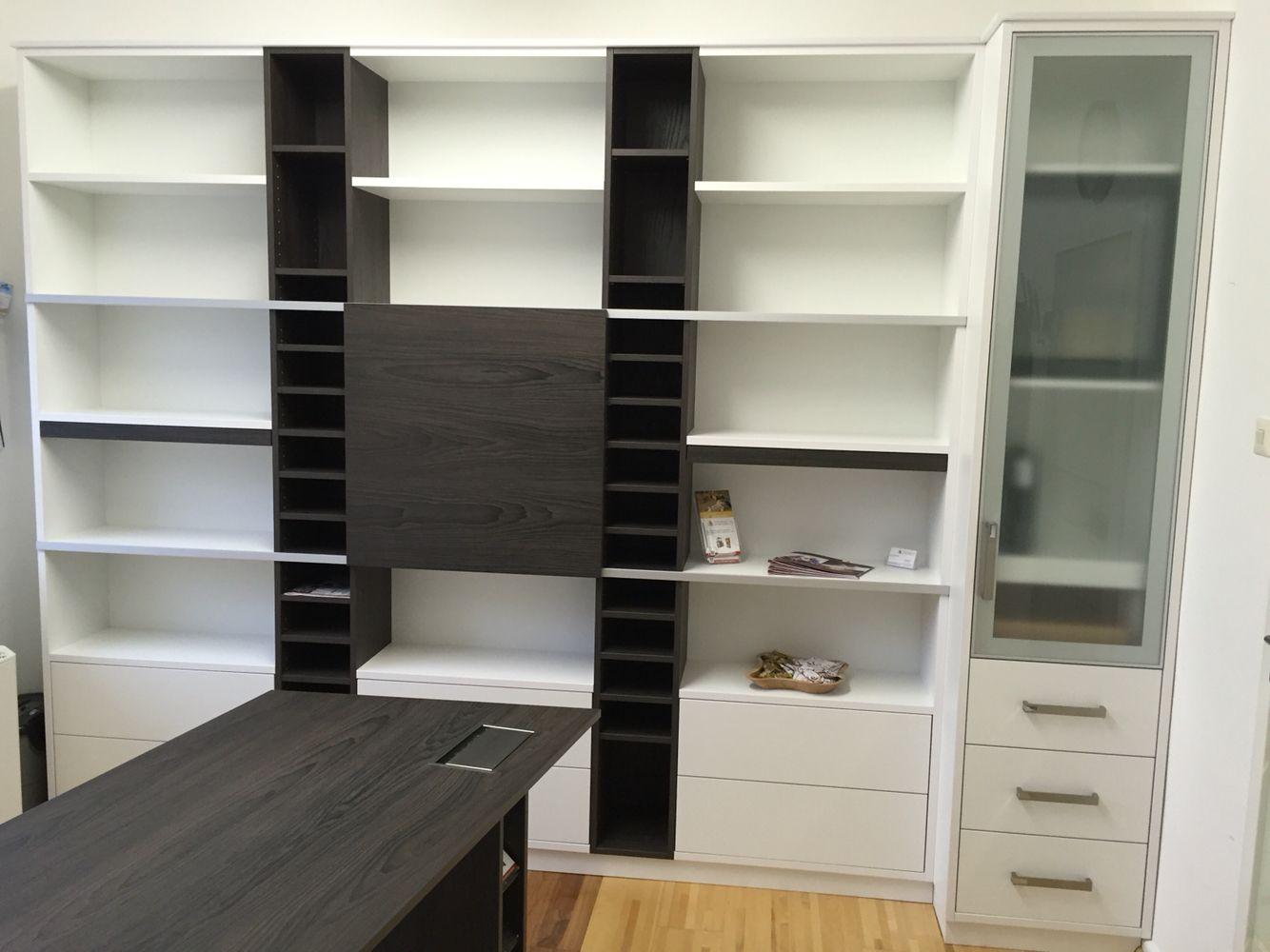 Büromöbel Schrankwand für Akten und Ordner | Büromöbel | Pinterest