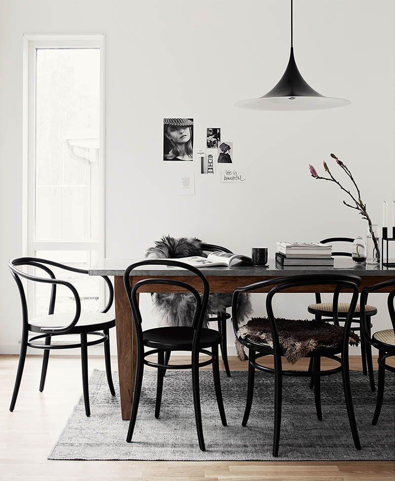 9 Ways To Decorate With Thonet Chairs