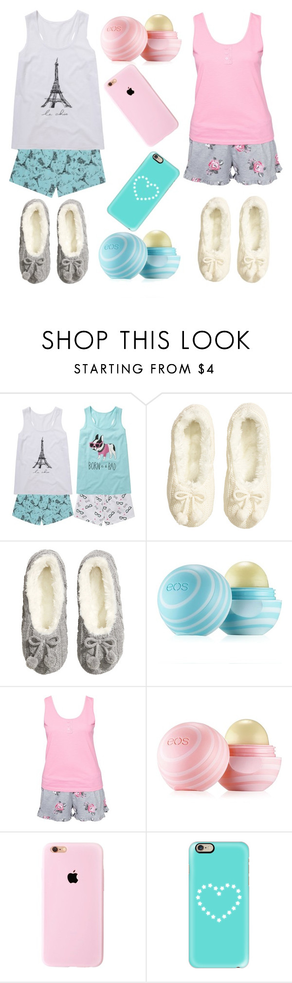 """""""Bestie sleepover """" by pink-paris-love07 ❤ liked on Polyvore featuring interior, interiors, interior design, home, home decor, interior decorating, H&M, Eos, Hunkemöller and Casetify"""