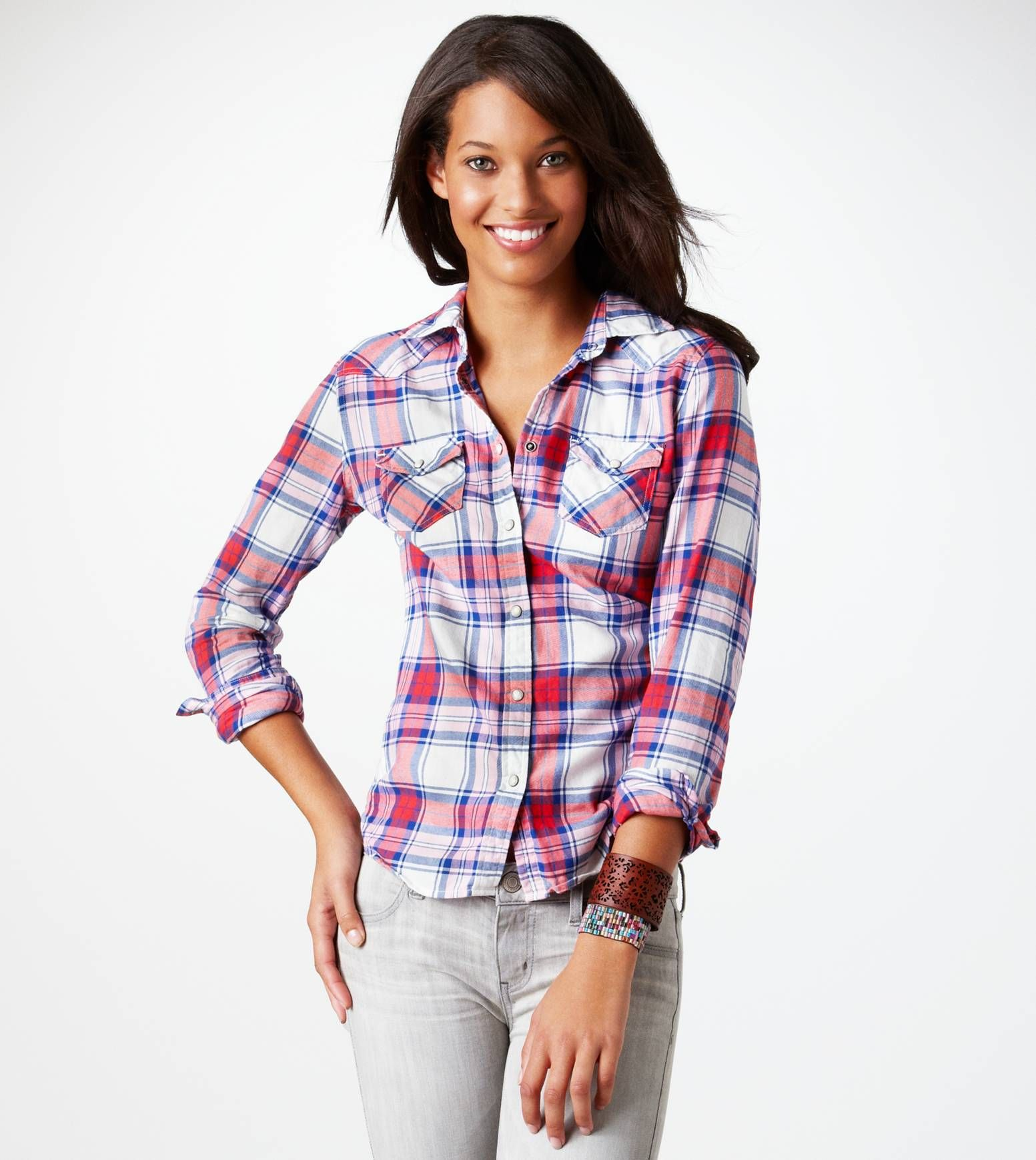 Red flannel shirt black jeans  flannel  outfit ideas  Pinterest  Western shirts Plaid flannel