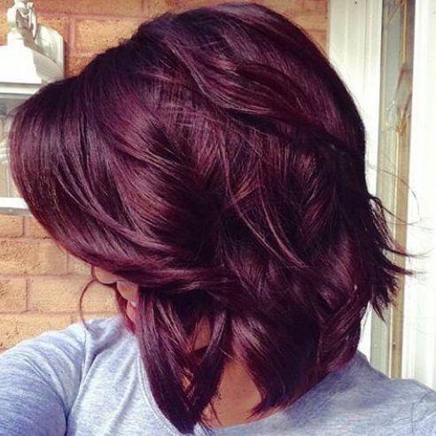 15 ideas de pelo de Borgoña para el cabello rubio ffe4f6b1bcff