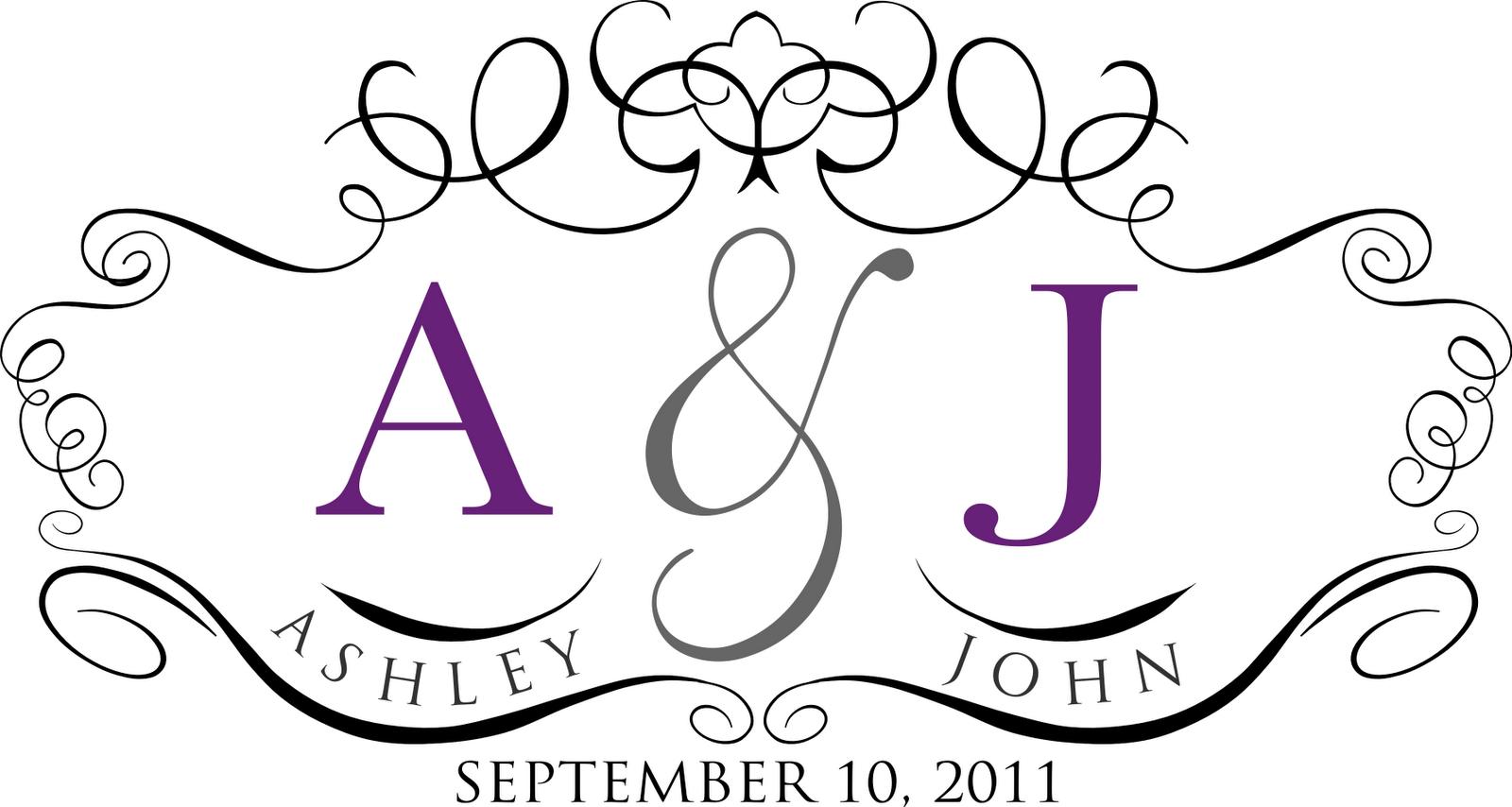 Free Monogram Templates | Custom wedding monogram for Ashley | britt ...