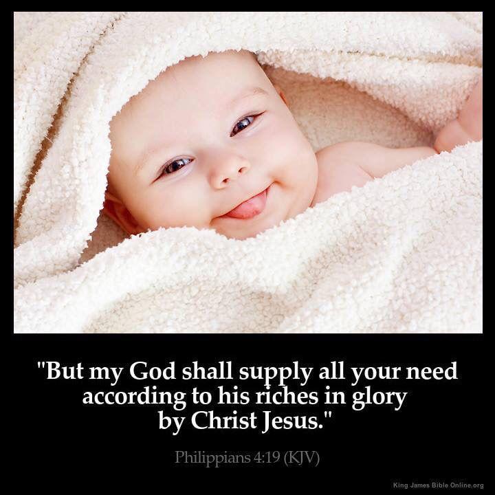 Philippians 4:19 (KJV)