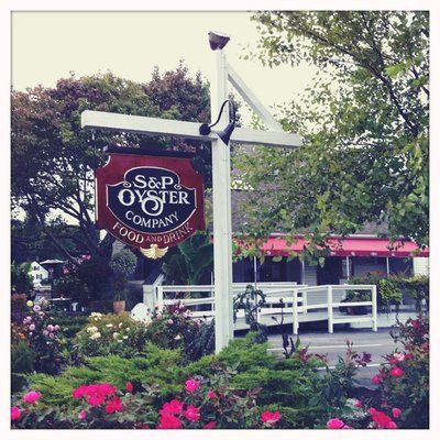 S P Oyster Company Mystic Ct Gorgeous 2 Story Restaurant With Views Over The Water And Best Seafood