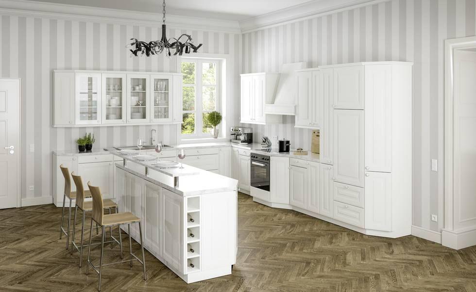 Klassisch, modern und ganz individuell Ideen für Landhausküchen - moderne kuche massivem eichenholz