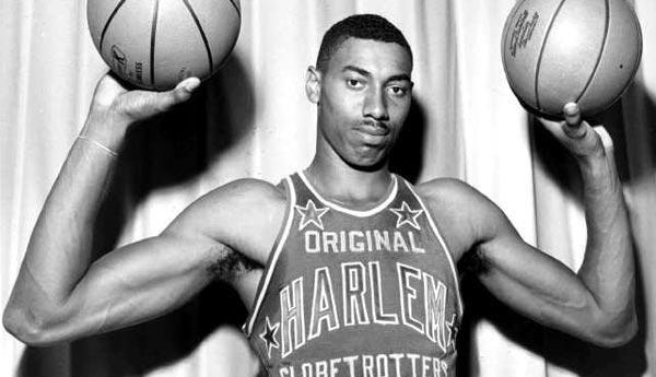 August 21, 1936 - Wilt Chamberlain,an American professional basketball player is born in Philadelphia, Pennsylvania