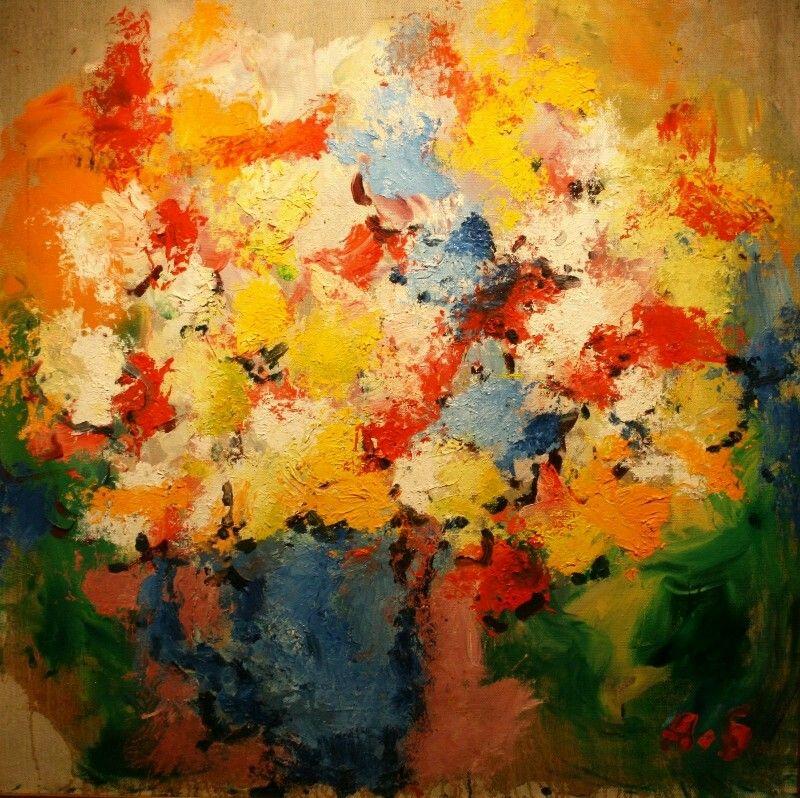 Арон Бух «Весенний букет» 2001