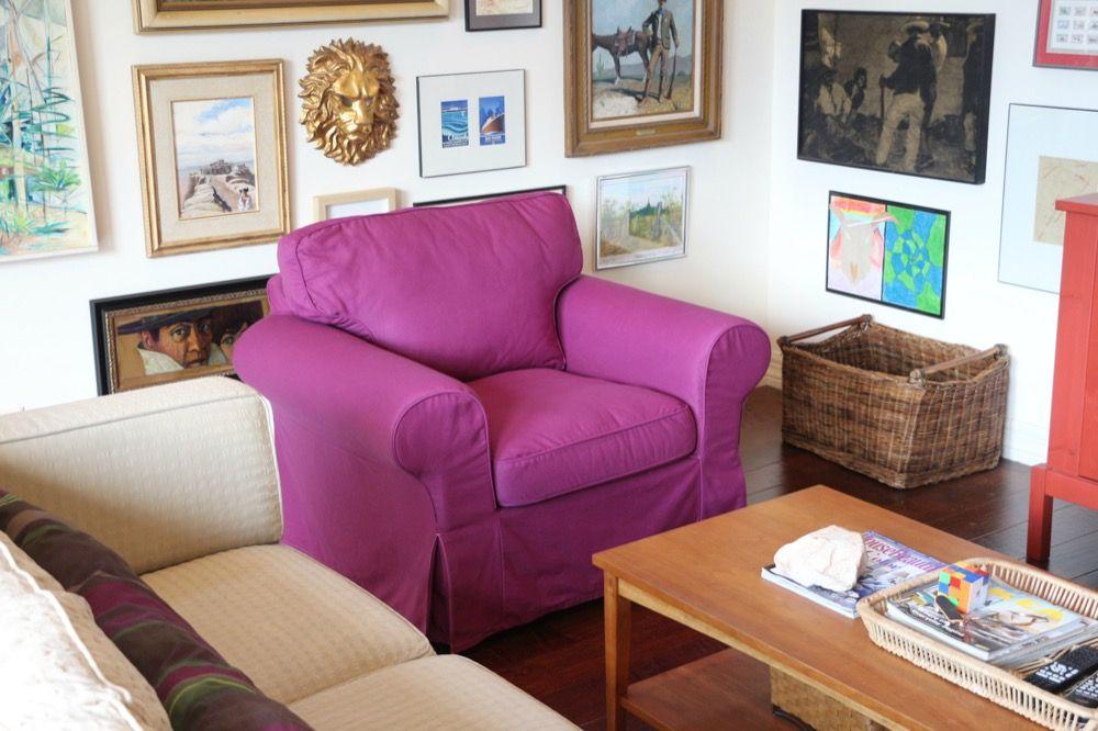 Custom Dyed Slipcovers for IKEA EKTORP - 2 colors! | Ektorp sofa ...