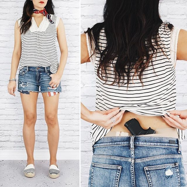 Getting into July 4th spirit with today's #StyleMeConcealed