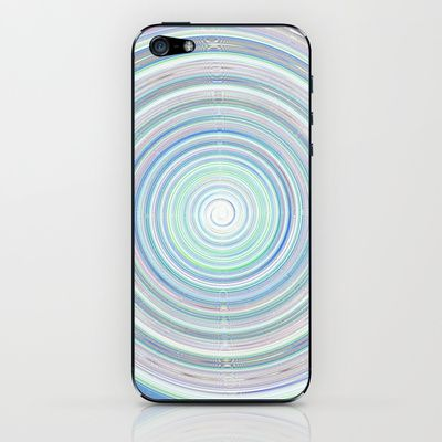 Re-Created Spin Painting No. 2 iPhone & iPod Skin by Robert Lee - $15.00 #art #spin #painting #drawing #design #circle