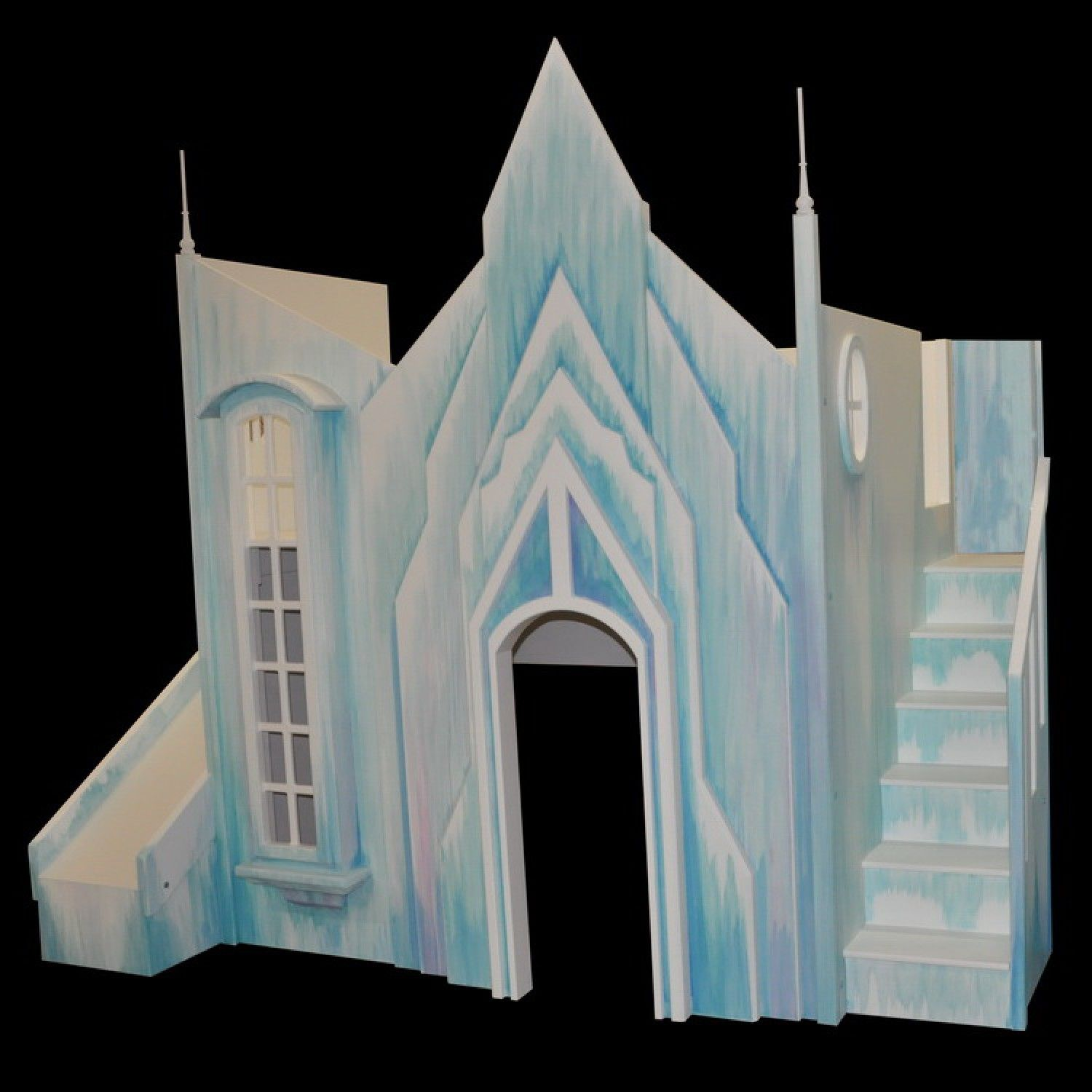 Frozen Ice Castle Bunk Bed Castle Beds Beds