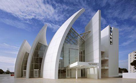 Jubilee Church - Roma - Tor Tre Teste - Italy - 1996-2003 - Richard Meier & Partners