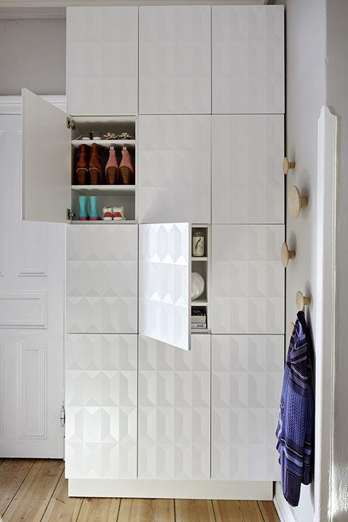 die besten 25 dielenschrank ideen auf pinterest schuhschr nke flurgarderobe ikea und. Black Bedroom Furniture Sets. Home Design Ideas