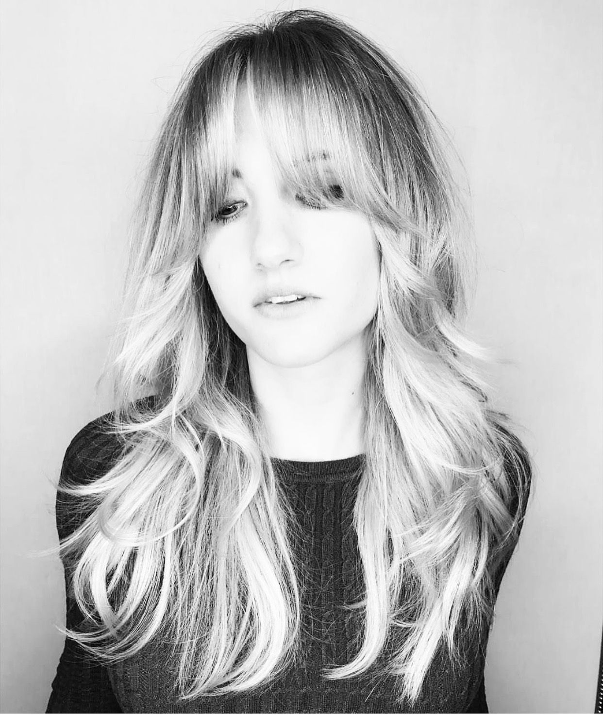 fringe bangs blonde 1970s 70s | cosmetic in 2019 | long hair