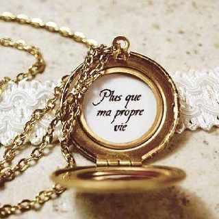 Renesmee S Locket More Than My Own Life Love The Quote