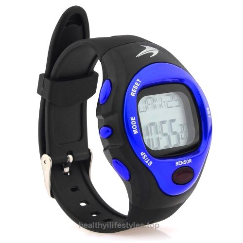 heart rate monitor watch blue best for men women running heart rate monitor watch blue best for men women running jogging