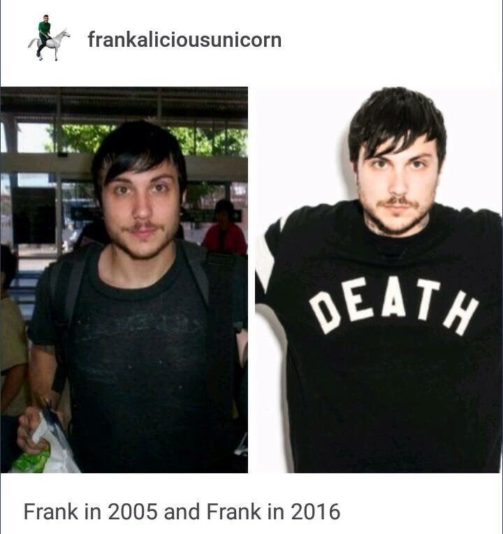? ??? ??????????? I can confirm that MCR is literally just a group of vampires since noNE OF THEM HAVE AGED SINCE 2005