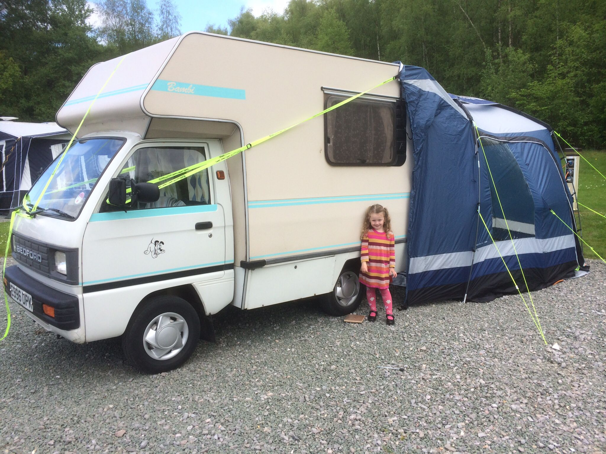 Camping with mary