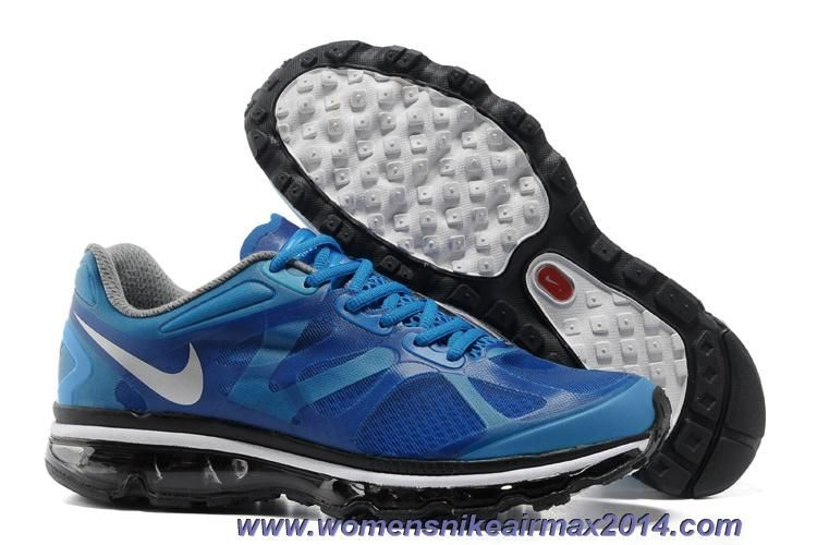 Nike Air Max 2012 487982-400 Soar Metallic Silver Black Summit White Mens Sale