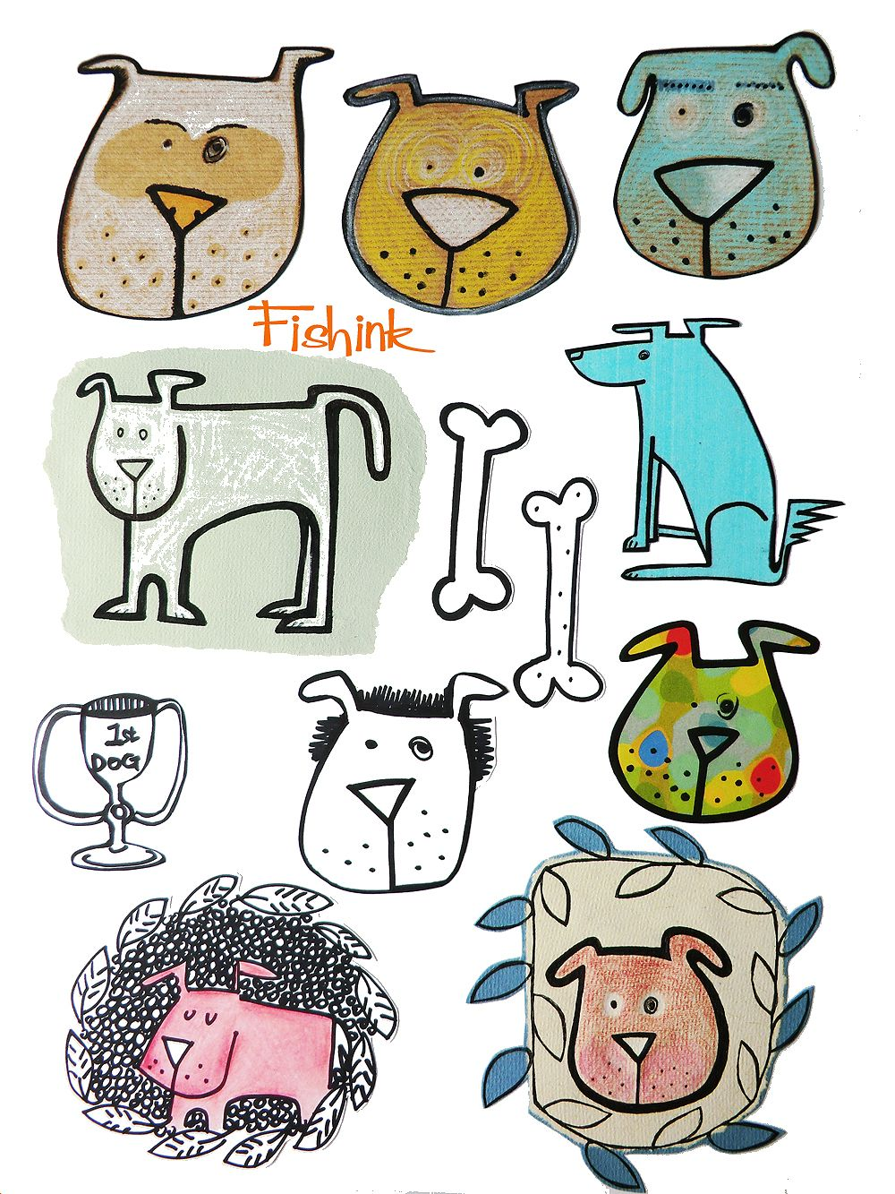 Fishinkblog 7884 Fishink Sketches 3 Check out my blog ramblings and arty chat here www.fishinkblog.w... and my stationery here www.fishink.co.uk , illustration here www.fishink.etsy.com and here carbonmade.com/.... Happy Pinning ! :)