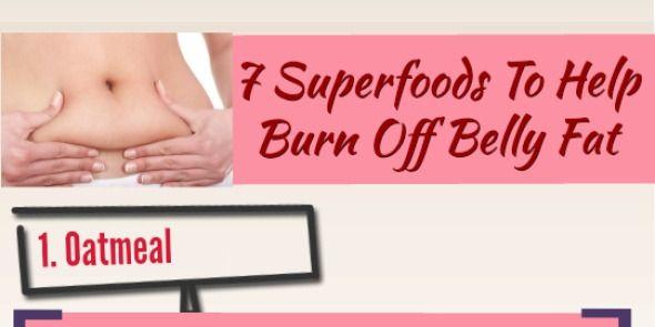 Burn off belly fat
